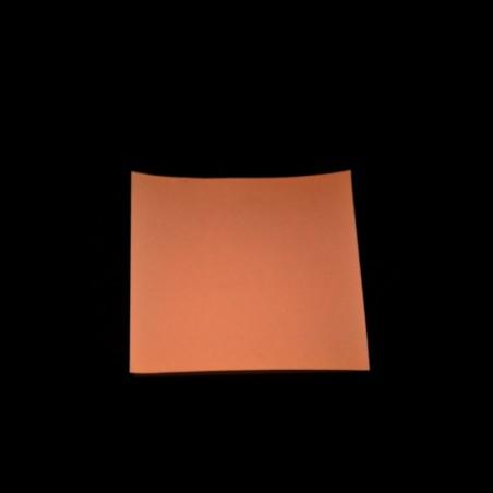 Vinyl PVC-P - oranžovočervený - 1m2