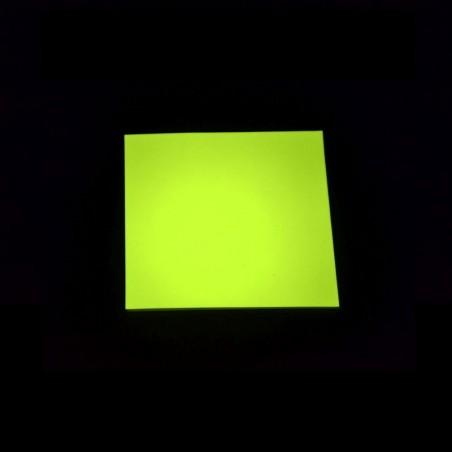 Fotoluminiscenční Vinyl PVC-P - žlutý - 1m2
