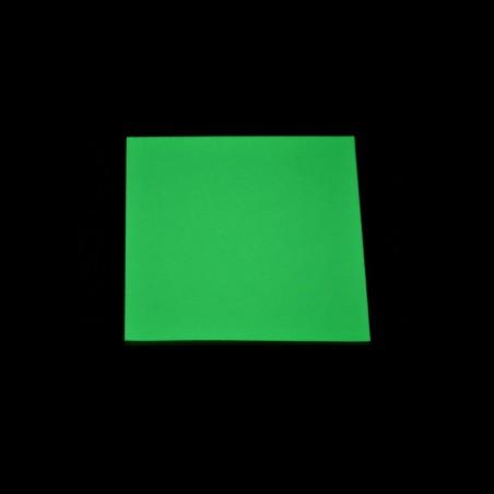 Fotoluminiscenční Vinyl PVC-P - žlutozelený - 1m2
