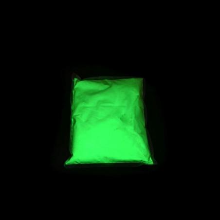 0,5 kg, neon zelený fluorescenční pigment