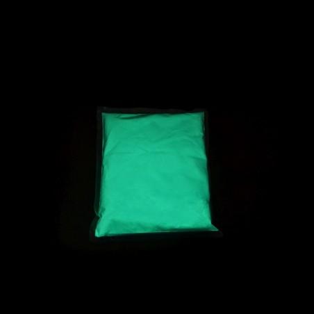Modrý fotoluminiscenční pigment - 0,5 kg, neon