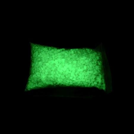 Žlutozelený - 0,5 kg, fotoluminiscenční dárek k vánocům