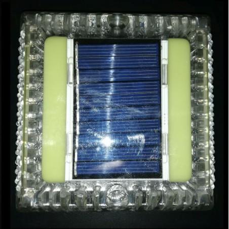 Podélné značení - čtvercové solární s LED diody
