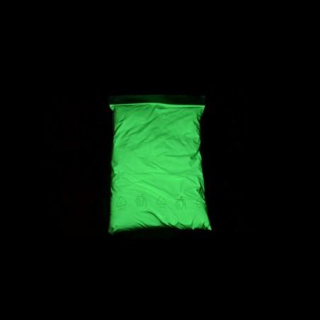 Svítící pigment do glazury - 1 kg - zelený