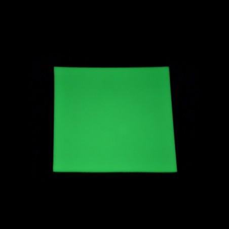 PET deska - samolepící - žlutozelená - 102x122cm
