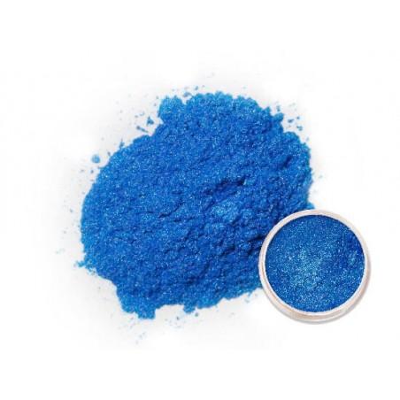 Metalický prášek tmavě modrý