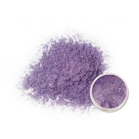 Světle fialový metalický prášek