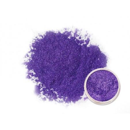 Duhově fialový metalický pigment