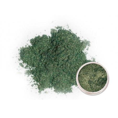 Metalické pigmenty - tmavě zelené