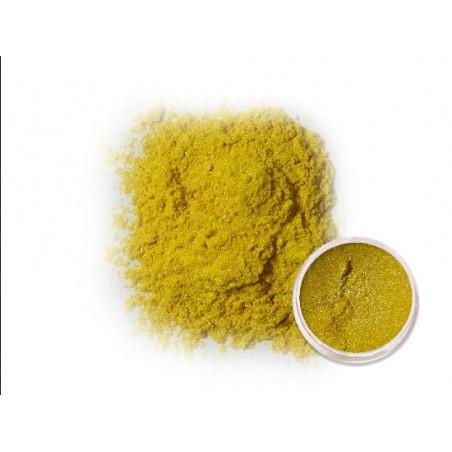 Tmavě žlutý metalický pigment