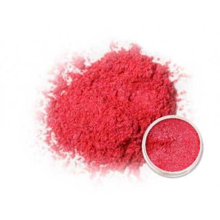 Červený perleťový prášek