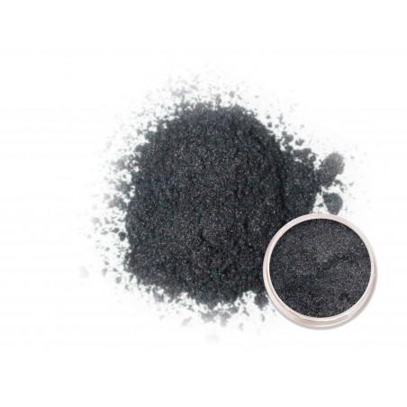 Černý perleťový prášek