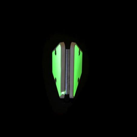 Fotoluminiscenční dopravní značka -Trojúhelníkový profil