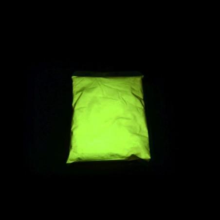 Žlutý fotoluminiscenční pigment - 30 g, neon